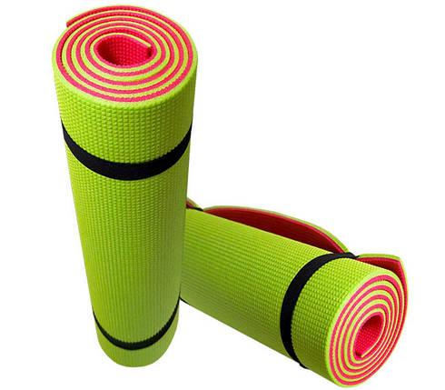 Коврик для фитнеса «FITNESS» 1800х600х9мм  (Двухслойный), фото 2