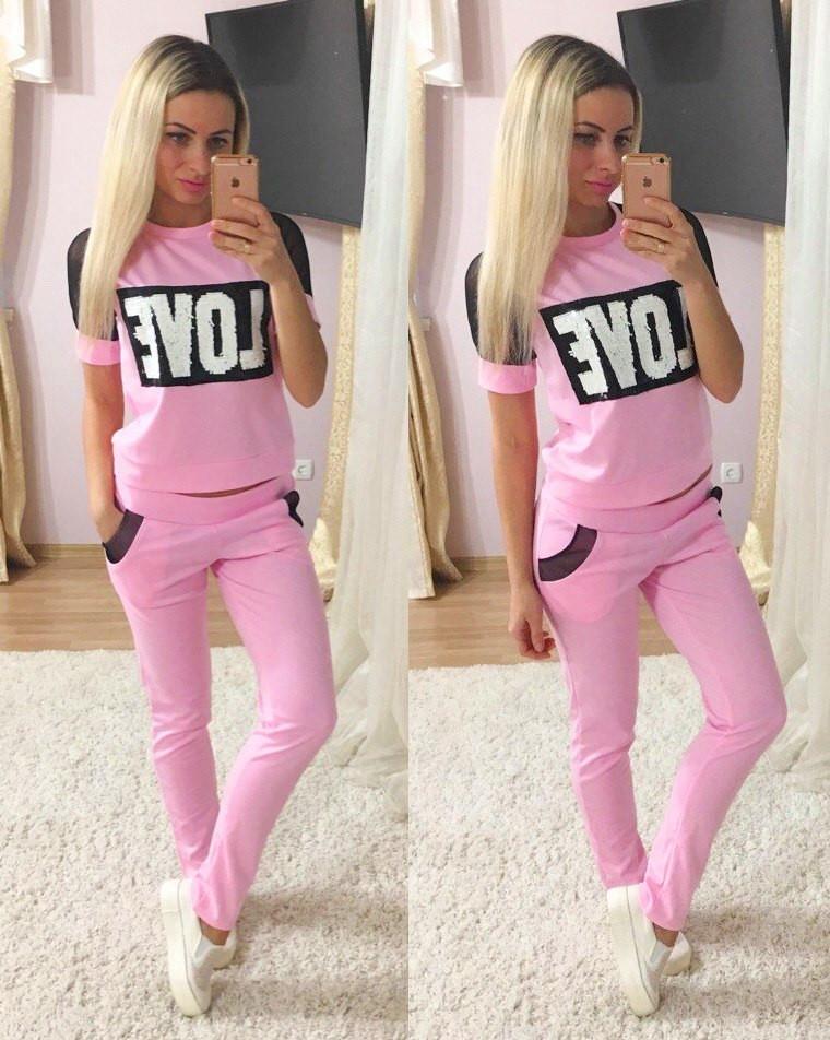 2fae3ca975fa Женский спортивный костюм на лето - Интернет-магазин