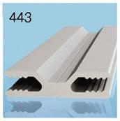 Профиль Н-образный для алюминиевых композитных панелей 3мм