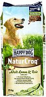 Корм для собак Наppy dog 15кг ягня, рис, овощи . немецкий корм