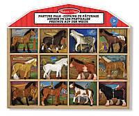 Игровой набор Конюшня фигурки лошадей Melissa&Doug (MD10592)