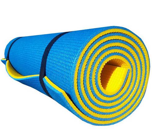 Коврик для фитнеса «PREMIUM-10» 1800х600х10мм (Двухслойный), фото 2