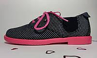 Модные туфли на каблучке для девочки. Размеры 32, 33, 34, 36