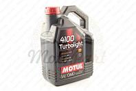 "Масло автомобильное, 4л ""MOTUL"" (синтетика, 10W-40, 4100 Turbolight) #100355 (код товара A-1317)"