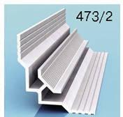 Профиль угловой внутренний для алюминиевых композитных панелей 3мм
