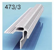Профиль угловой наружный для алюминиевых композитных панелей 3мм