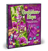 """Художественный творческий набор-триптих """"Орхидея"""". Картины по номерам Schipper 947 0739"""