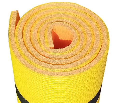 Коврик для спорта «SPORT PLUS» 1800х600х12мм (Двухслойный), фото 2
