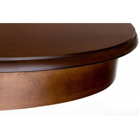 Стол раскладной Виктория Н шпон 900(1300)*900 круглый, фото 2