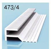 Профиль торцовочный для алюминиевых композитных панелей 3мм