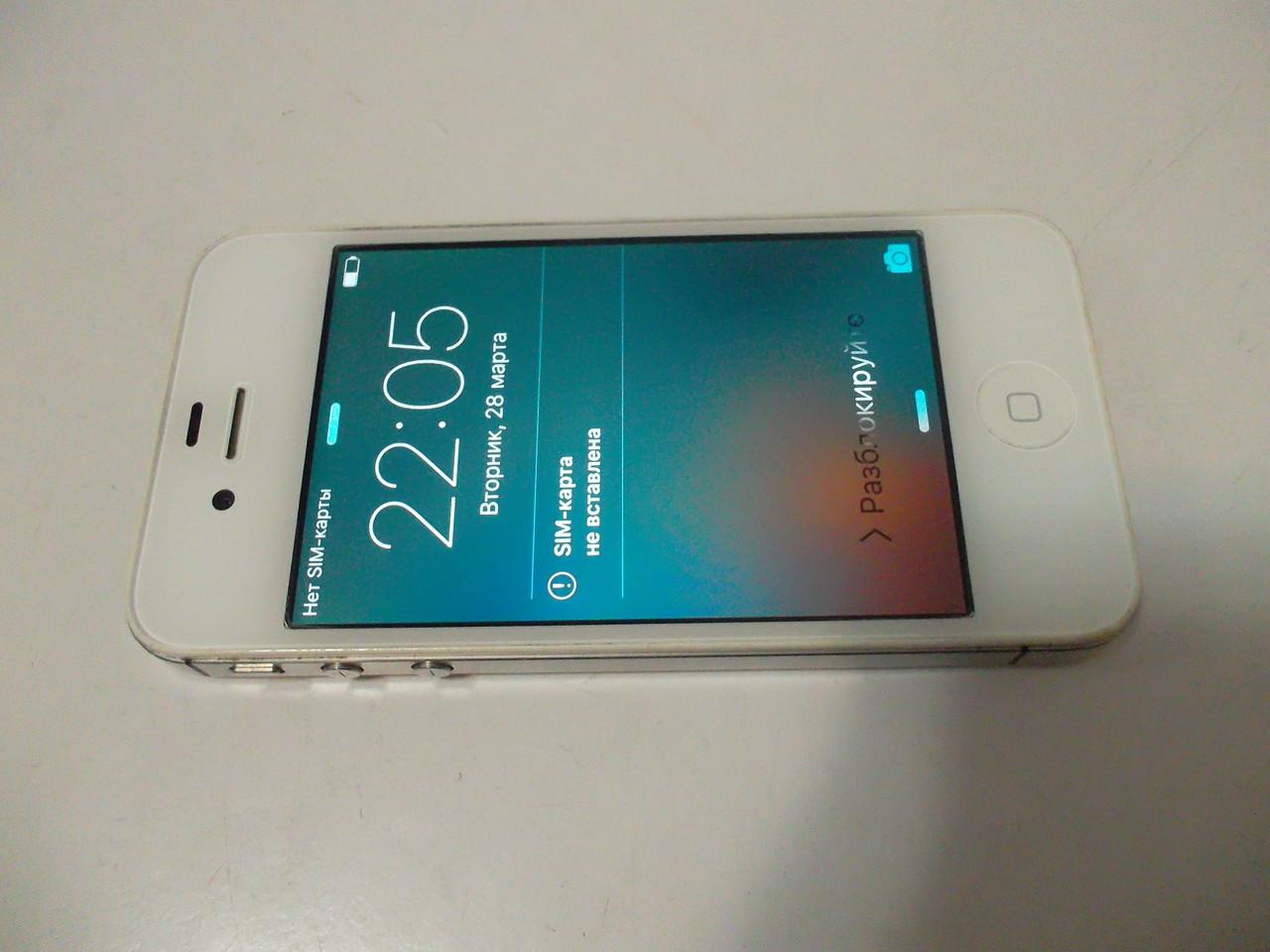 Мобильный телефон Iphone 4s 16gb №2677