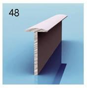 Профиль Т-образный для алюминиевых композитных панелей 3мм