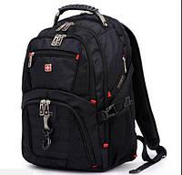 Стильный городской рюкзак SwissWin SA8112BL c отделением для ноутбука.