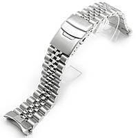 22мм Super Jubilee 316L стальной браслет для Seiko SKX007, SKX009, SKX011.