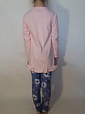 Комплект туника+лосины трикотажные для девочки р.116-146 F&D, фото 2