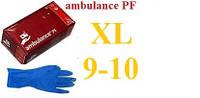 Рукавички гумові Ambulance PF ultra (XL) 9-10, фото 1