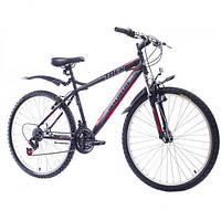 """Велосипед 29"""" Discovery TREK AM 14G DD St черно-серо-красный 2016 (код товара OPS-DIS-29-012)"""