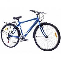 """Велосипед 26"""" Discovery PRESTIGE MAN 14G Vbr St с багажн. 2016 сине-черный (код товара OPS-DIS-26-031-1)"""