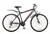 "Велосипед 29"" Discovery TREK AM 14G DD St 2016 черно-сине-серый (код товара OPS-DIS-29-010-1)"