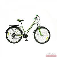 "Велосипед 26"" Formula OMEGA AM 14G Vbr St с багажн. 2016 бело-зеленый (код товара OPS-FR-26-113-1)"