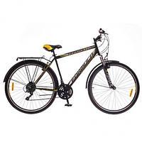 """Велосипед 28"""" Formula HORIZONT AM 14G Vbr St с багажн. черно-желтый (м) 2016 (код товара OPS-FR-28-003-1)"""