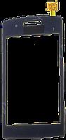 Тачскрин (сенсор) LG GM360 Viewty Snap, black (чёрный)