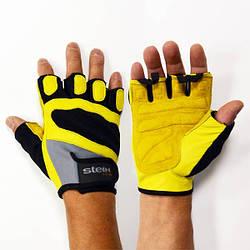 Тренировочные перчатки для фитнеса и бодибилдинга Stein S.Oliva GPT-2240 для дома и спортзала