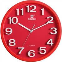 Часы настенные POWER PW916CKS (330x330x54 мм) [Пластик]