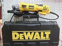 Угловая шлифовальная машина DeWalt D28136 KD + алмазный диск + чемодан
