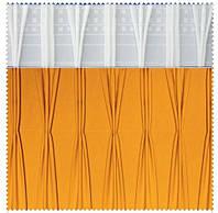 Тесьма шторная тканевая Куриная лапка-Тройная складка складка, ширина 17 см
