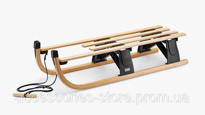 Складные деревянные санки Volkswagen Wood Glisser