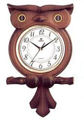 """Часы настенные """"Сова"""" POWER 6112JPMKS2 (385*298*70 мм) [Пластик]"""