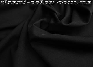 Микродайвинг трикотаж черный