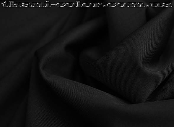 Микродайвинг трикотаж черный , фото 2