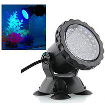 Подводный прожектор 36 LED синий , фото 2