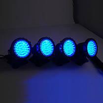 Подводный прожектор 36 LED синий , фото 3
