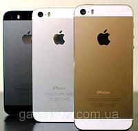 IPhone 5S золотой белый черный (айфон 1 в 1) +стилус в подарок!