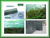 Сетка затеняющая KARATZIS 35%, 2х50 зеленая, Греция