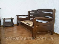 """Кровать односпальная """"Луи Дюпон Люкс"""". Массив - сосна, ольха, береза, дуб., фото 3"""