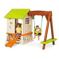 Детский игровой домик-площадка Winnie Smoby