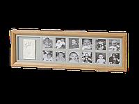 Набор для создания отпечатков ручки или ножки + фоторамка My First Year Wooden Frame, Baby Art