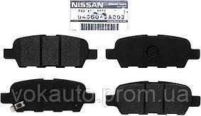Колодки тормозные задние D4060JA00J Nissan Qashqai 07-14гг. и на много моделей Nissan и INFINITI