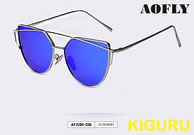 Солнцезащитные очки женские AOFLY поляризованные. Синие