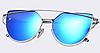 Солнцезащитные очки женские AOFLY поляризованные. Синие, фото 2