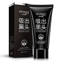 Черная маска-пленка против черных точек BIOAQVA