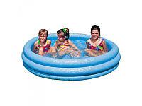 """Детский надувной бассейн Intex """"Кристалл"""" 58426 (147х33см)"""