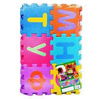 """Детский коврик мозайка """"Азбука"""" Bambi M0378 для малышей"""