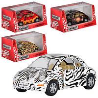 """Машина Kinsmart """"Volkswagen New Beetle"""" KT5062W"""