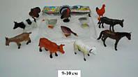 Набор игровых фигурок Домашние животные резиновые HB9710/12 *мт