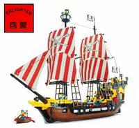 Конструктор BRICK пиратcкий корабль, 308/298783